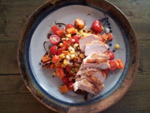 yam corn salad